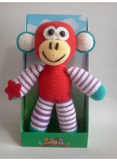 Damla Oyuncak Damla Oyuncak Oyun Arkadaşım Maymun Oyuncak Renkli
